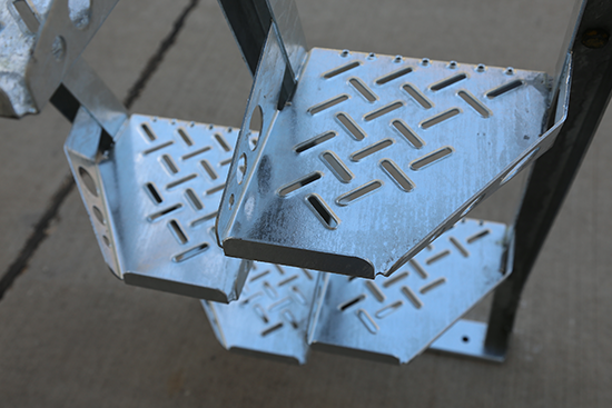 Galvanized Alternating Tread Stair