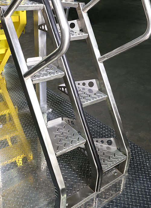 Steel Alternating Tread Stair