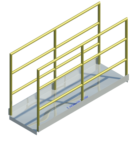 Alternating Tread Stairs, Platforms, REVIT ...