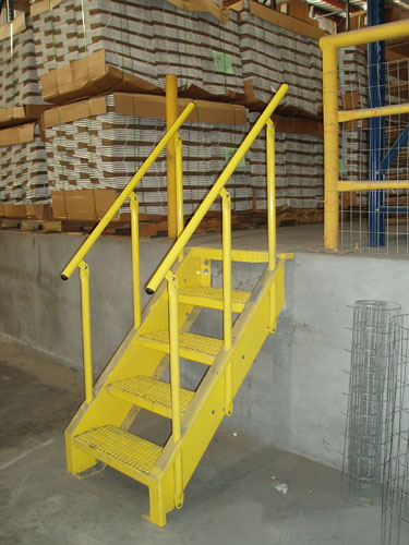 Loading dock safety gatesloading dock safety gates diversified fall lapeyre stair product gallery publicscrutiny Gallery