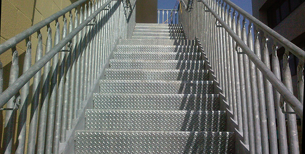 Steel Bolted Stairs For Commercial Applications