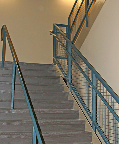 US Marine Base Welded Stairs
