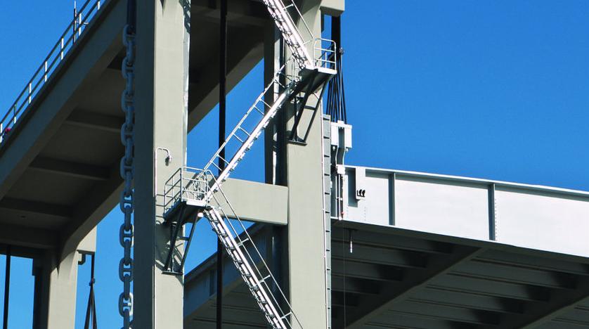 Bayou Lafourche Vertical Lift Bridge